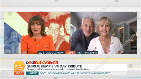 Lorraine Kelly, Shirlie Holliman and Martin Kemp