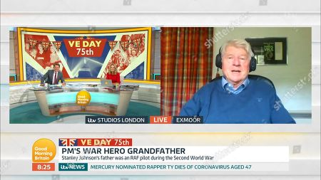Editorial picture of Good Morning Britain' TV Show, London, UK - 08 May 2020
