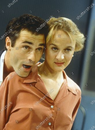 Stock Photo of Greg Wise. Niamh Cusack