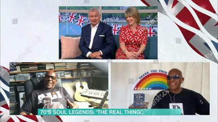 Stock Image of Eamonn Holmes, Ruth Langsford, Chris Amoo and Dave Smith