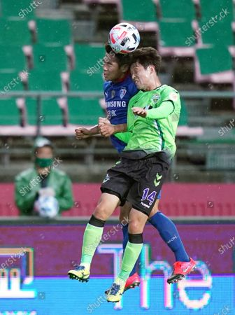 Stock Picture of Lee Seung-gi of Jeonbuk Hyundai during the South Korea's K-League opening game between Jeonbuk Hyundai Motors FC and Suwon Samsung Bluewings without spectators due to COVID-19 in Jeonju World Cup Stadium in Jeonju, South Korea on May 8, 2020. South Korea reported 12 new COVID-19 confirmed cases.