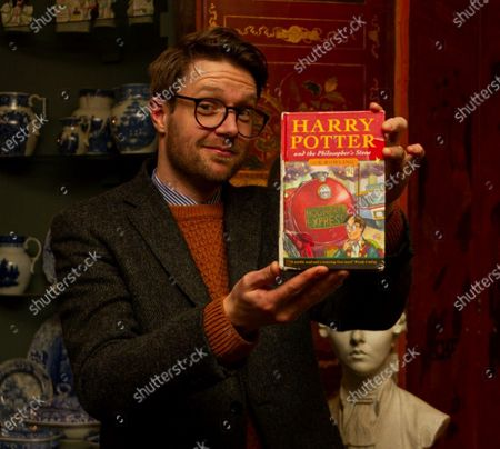 Editorial photo of First edition 'Harry Potter and the Philosopher's Stone' books, Staffs, UK - 07 May 2020