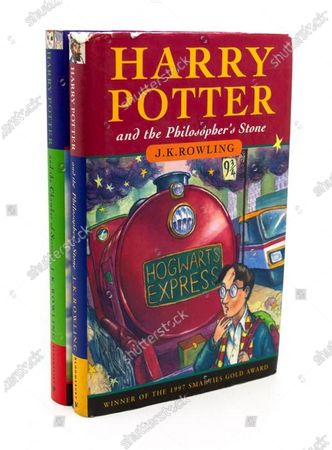 Editorial image of First edition 'Harry Potter and the Philosopher's Stone' books, Staffs, UK - 07 May 2020