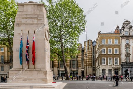 Editorial image of VE Day is remembered 75 years on., London, UK - 08 May 2020