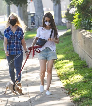 Editorial photo of Lily Collins out and about, Los Angeles, USA - 08 May 2020