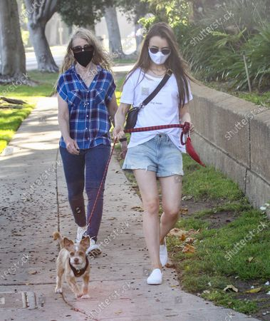 Jill Tavelman and Lily Collins
