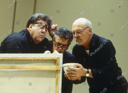 Stock Image of Stacey Keach. David Dukes. George Wendt