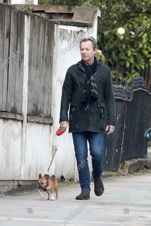 Julian Clary out and about
