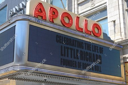 Editorial image of The Apollo honors Little Richard, New York, USA - 10 May 2020