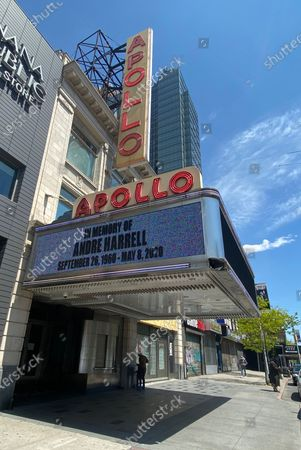 Stock Picture of The Apollo Pays Honor To Music Legends Little Richard And Andre Harrell