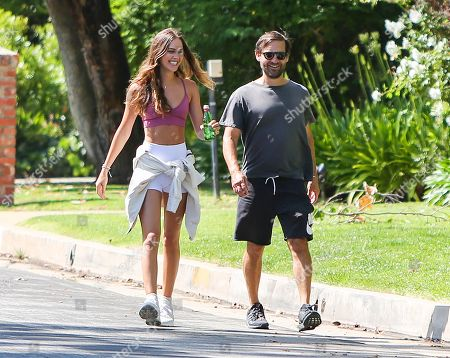 Editorial picture of Tobey Maguire and Tatiana Dieteman out and about, Los Angeles, USA - 10 May 2020