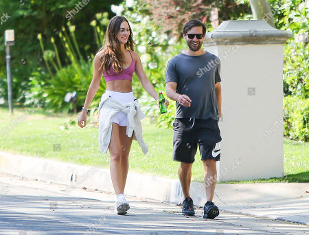 Editorial photo of Tobey Maguire and Tatiana Dieteman out and about, Los Angeles, USA - 10 May 2020