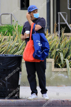 Editorial picture of Michael Showalter out and about, Los Angeles, USA - 10 May 2020