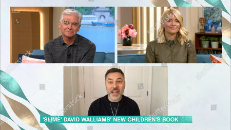 Phillip Schofield, Holly Willoughby and David Walliams