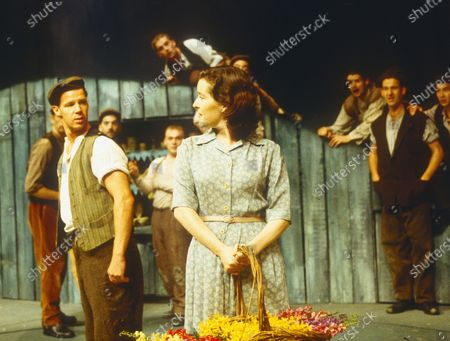 Editorial photo of 'Tarry Flynn' Play performed in the Lyttelton Theatre, National Theatre, London, UK 1998 - 10 May 2020