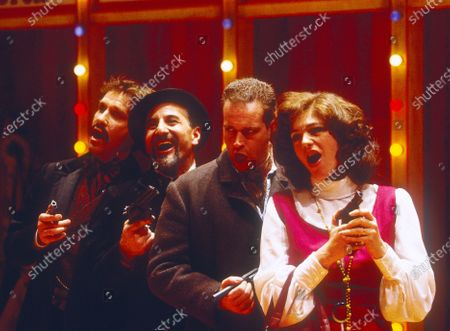 Editorial image of 'Assasins' Play performed at the Donmar Theatre, London, UK 1993 - 11 May 2020