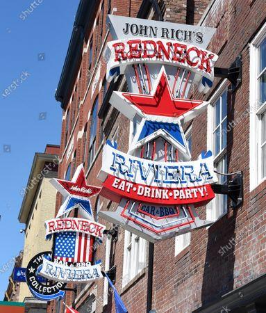 Editorial image of John Rich reopens Redneck Riviera, Nashville, USA - 11 May 2020