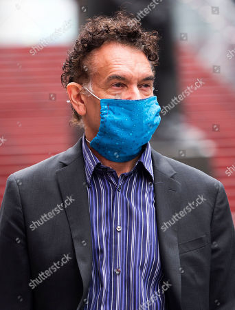 Editorial picture of Brian Stokes Mitchell out and about, New York, USA - 11 May 2020