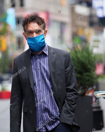 Editorial photo of Brian Stokes Mitchell out and about, New York, USA - 11 May 2020