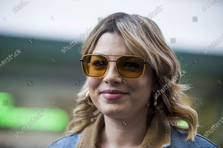 Emma Marrone, the beautiful singer participated in the Milanese fashion shows of February 2020