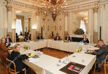 Editorial photo of Politics Interministerial Conference Culture, Brussels, Belgium - 12 May 2020