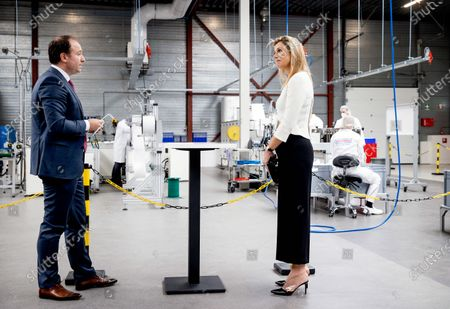 Queen Maxima visit to AFPRO Filters, Alkmaar
