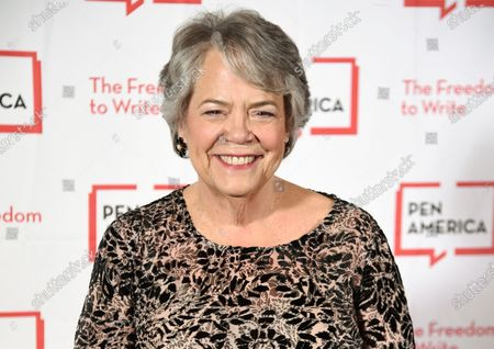 Stock Photo of Simon & Schuster president Carolyn Reidy at the 2018 PEN Literary Gala in New York. Reidy died of a heart attack on Tuesday morning, May 12, 2020. She was 71. Her death was announced by company executive Dennis Eulau