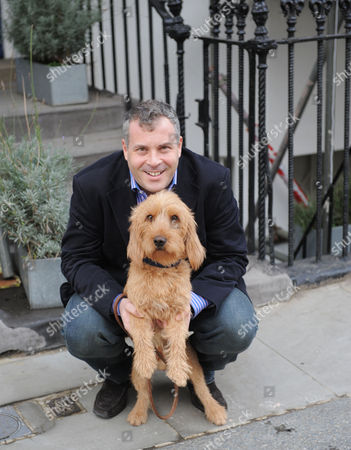 James Max with his dog Barnaby