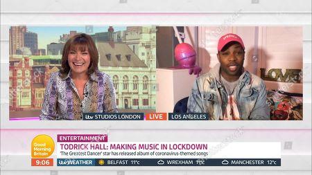 Editorial photo of 'Good Morning Britain' TV Show, London, UK - 13 May 2020