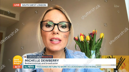 Stock Picture of Michelle Dewberry