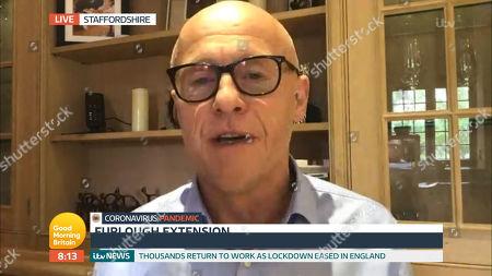 Editorial image of 'Good Morning Britain' TV Show, London, UK - 13 May 2020