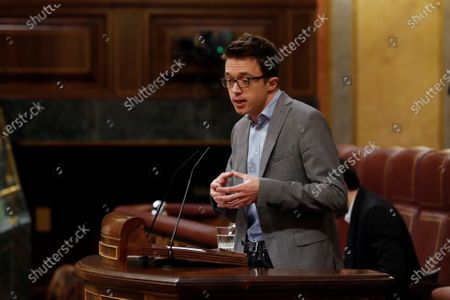 Editorial image of Question time at Parliament, Madrid, Spain - 13 May 2020
