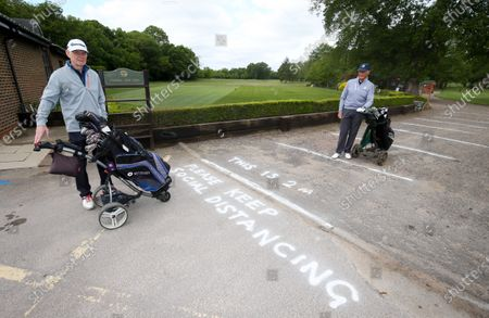 Editorial image of Golf Courses re-open in England, London, UK - 13 May 2020
