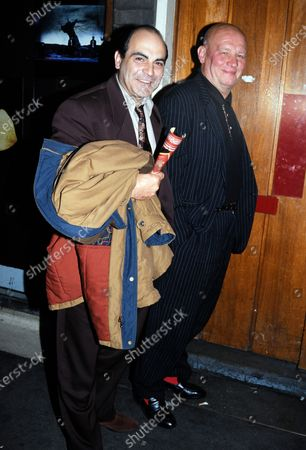 David Suchet and Brian Glover c.1991