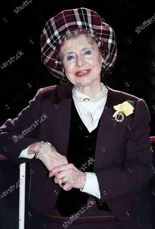 Stock Photo of Molly Weir c.1991