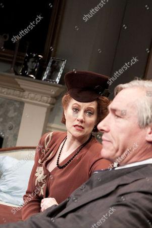 Tracey Childs (Dame Laura), Simon Dutton (Richard Caulfield)