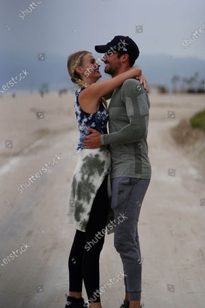 James Maslow and Caitlin Spears