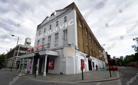 General view of the Old Vic Theatre in south London, Britain, 13 May 2020, amid the ongoing coronavirus COVID-19 pandemic. The Old Vic Theatre is facing a 'seriously perilous' financial situation due to the COVID-19 pandemic, according to news reports citing the Old Vic's artistic director Matthew Warchus. Britain's economy has suffered a two per cent fall, its worst decline since the 2008 financial crash. Countries around the world are taking measures to stem the widespread of the SARS-CoV-2 coronavirus which causes the COVID-19 disease.