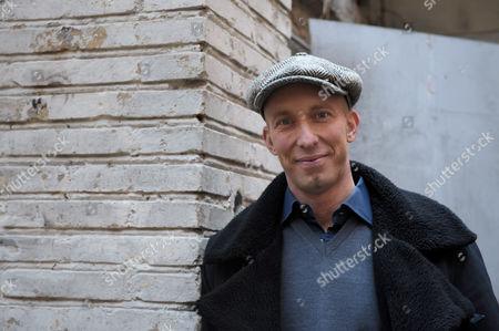Editorial photo of Director Erik Gandini in Rome, Italy - 16 Dec 2009