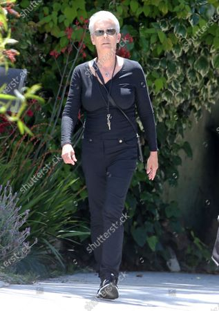 Editorial photo of Jamie Lee Curtis out and about, Los Angeles, USA - 13 May 2020