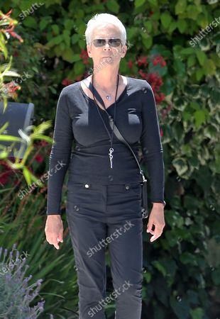 Editorial image of Jamie Lee Curtis out and about, Los Angeles, USA - 13 May 2020