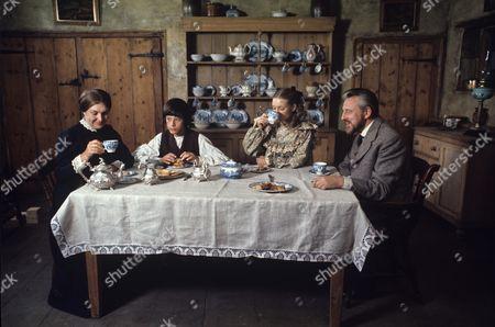 Charlotte Miller, Roderick Shaw, Judi Bowker and William Lucas