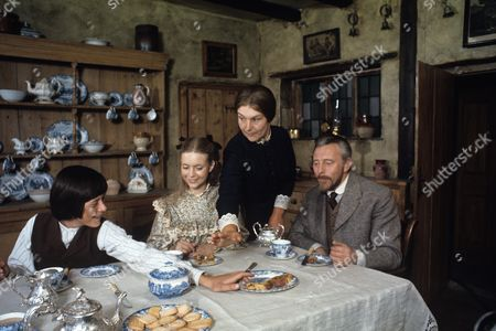 Stock Picture of Roderick Shaw, Judi Bowker, Charlotte Miller and William Lucas