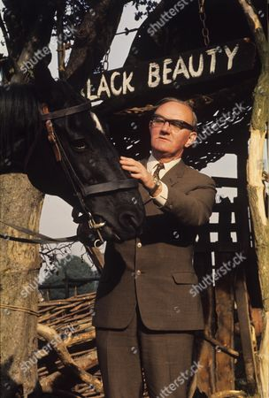 Sidney Cole with Black Beauty