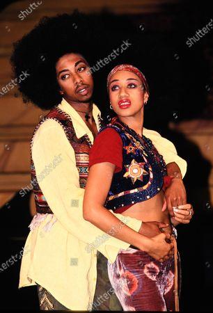 Helen 'Pepsi' DeMacque and Paul J Medford - Hair 1993