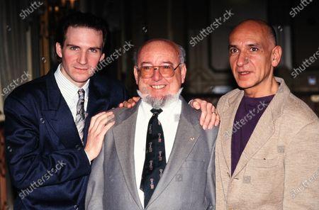 Ralph Fiennes, Thomas Keneally and Sir Ben Kingsley 1994