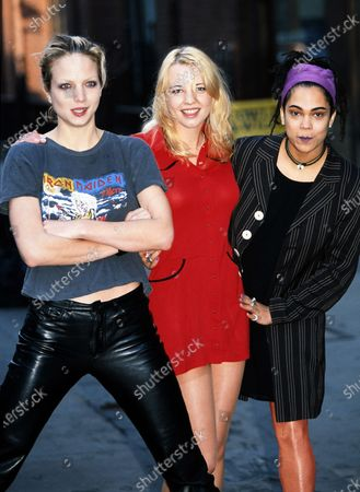 Rachel Williams, Sara Cox and Clare Gorham - The Girlie Show 1996