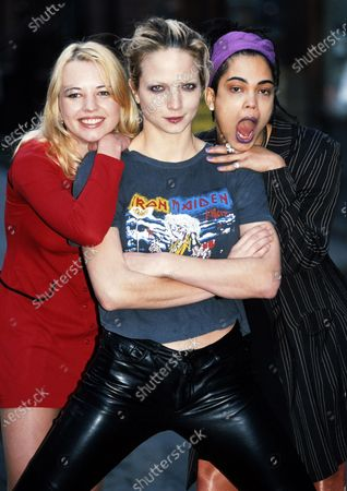 Sara Cox, Rachel Williams and Clare Gorham - The Girlie Show 1996