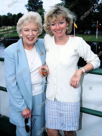 June Whitfield and daughter Suzy Aitchison 1998