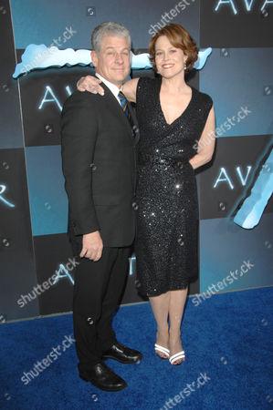 Sigourney Weaver and Husband Jim Simpson